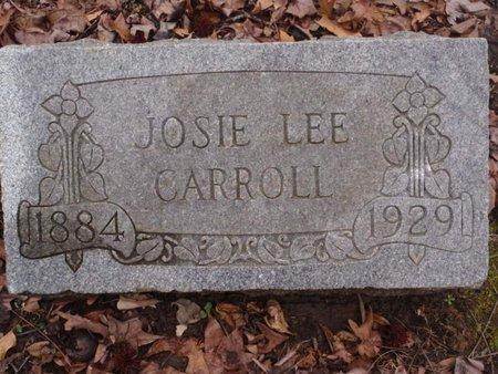 CARROLL, JOSIE - Dyer County, Tennessee   JOSIE CARROLL - Tennessee Gravestone Photos