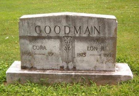 GOODMAN, CORA - Dyer County, Tennessee   CORA GOODMAN - Tennessee Gravestone Photos