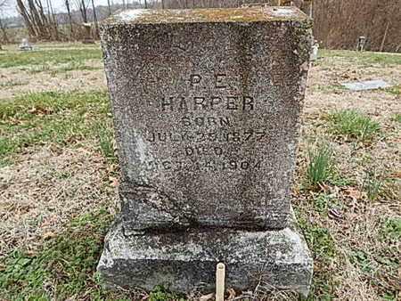 HARPER, P E - Dyer County, Tennessee | P E HARPER - Tennessee Gravestone Photos