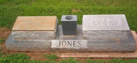 JONES, LUELLA B. - Dyer County, Tennessee   LUELLA B. JONES - Tennessee Gravestone Photos