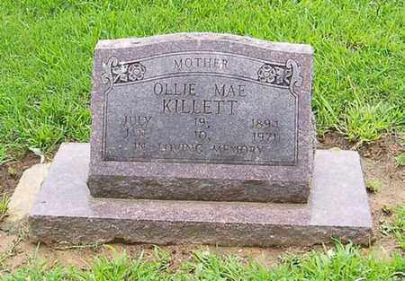 KILLETT, OLLIE MAE - Dyer County, Tennessee | OLLIE MAE KILLETT - Tennessee Gravestone Photos