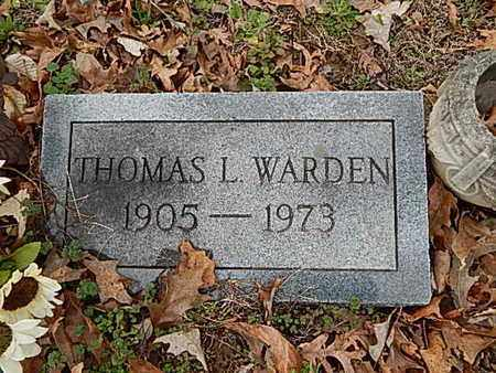 WARDEN, THOMAS L - Dyer County, Tennessee | THOMAS L WARDEN - Tennessee Gravestone Photos
