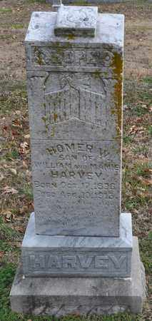 HARVEY, HOMER W. - Fayette County, Tennessee | HOMER W. HARVEY - Tennessee Gravestone Photos