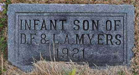 MYERS, INFANT - Fayette County, Tennessee | INFANT MYERS - Tennessee Gravestone Photos