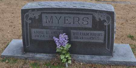 MYERS, ANNIE BLAKEY - Fayette County, Tennessee | ANNIE BLAKEY MYERS - Tennessee Gravestone Photos