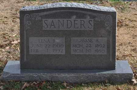 SANDERS, LENA B. - Fayette County, Tennessee | LENA B. SANDERS - Tennessee Gravestone Photos