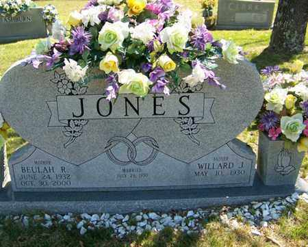 JONES, BEULAH R. - Fentress County, Tennessee | BEULAH R. JONES - Tennessee Gravestone Photos