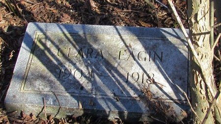 EAGIN, CLARA - Giles County, Tennessee | CLARA EAGIN - Tennessee Gravestone Photos