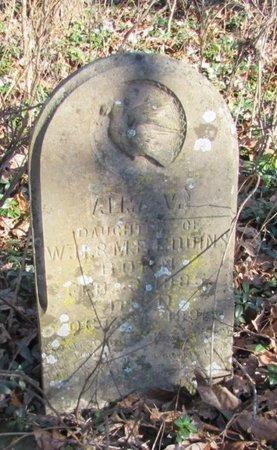 EDDINS, ALMA V. - Giles County, Tennessee | ALMA V. EDDINS - Tennessee Gravestone Photos