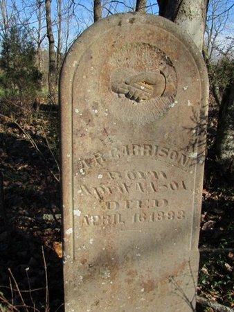 GARRISON, A. R. - Giles County, Tennessee | A. R. GARRISON - Tennessee Gravestone Photos