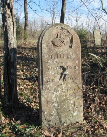 GRIGSBY GARRISON, CAROLINE - Giles County, Tennessee | CAROLINE GRIGSBY GARRISON - Tennessee Gravestone Photos