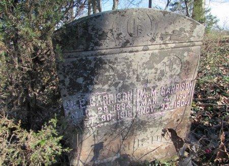 GARRISON, W. E. - Giles County, Tennessee | W. E. GARRISON - Tennessee Gravestone Photos