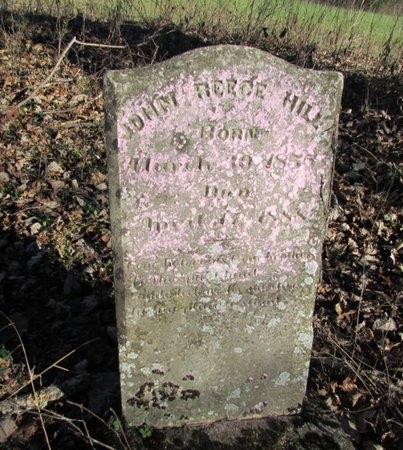 HILL, JOHN REECE - Giles County, Tennessee | JOHN REECE HILL - Tennessee Gravestone Photos