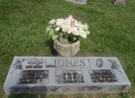 CRAIG JONES, HATTIE MAY - Giles County, Tennessee | HATTIE MAY CRAIG JONES - Tennessee Gravestone Photos