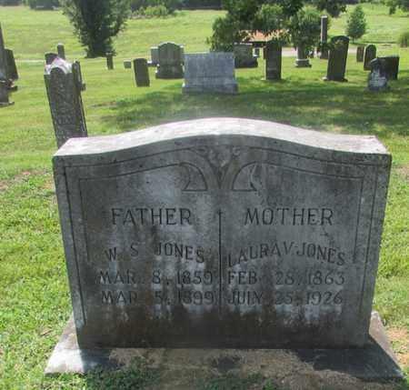 JONES, W. S. - Giles County, Tennessee | W. S. JONES - Tennessee Gravestone Photos
