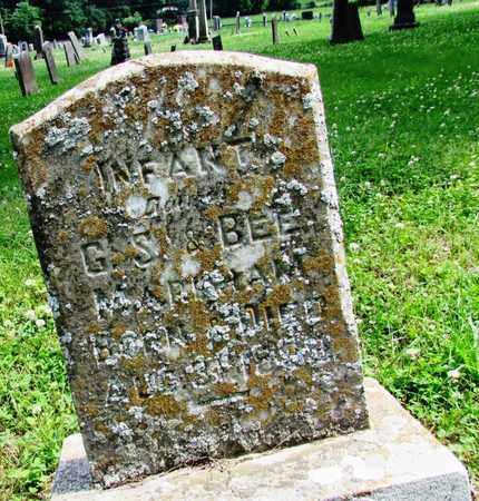 MARKHAM, INFANT - Giles County, Tennessee | INFANT MARKHAM - Tennessee Gravestone Photos
