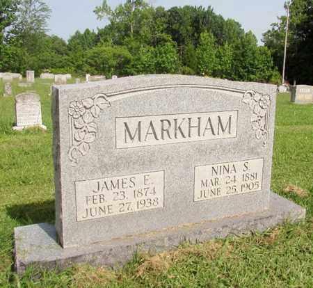 MARKHAM, JAMES E. - Giles County, Tennessee   JAMES E. MARKHAM - Tennessee Gravestone Photos