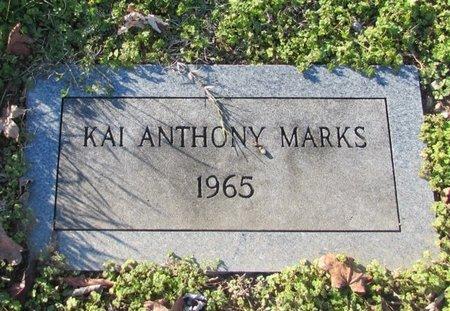 MARKS, KAI ANTHONY - Giles County, Tennessee | KAI ANTHONY MARKS - Tennessee Gravestone Photos
