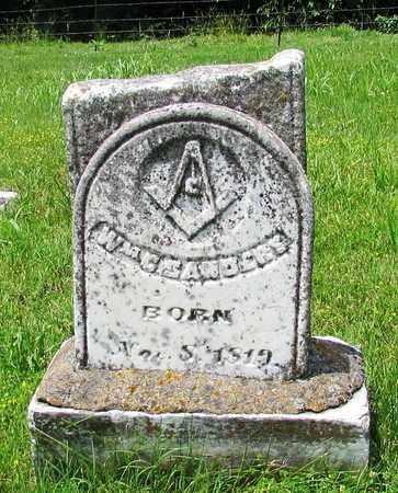 SANDERS, WILLIAM C - Giles County, Tennessee | WILLIAM C SANDERS - Tennessee Gravestone Photos