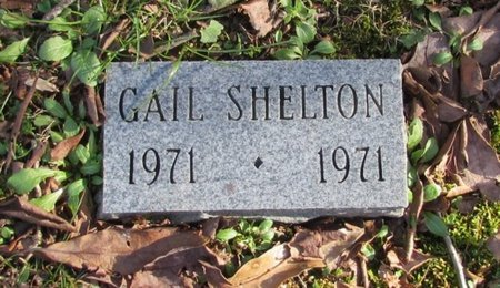 SHELTON, GAIL - Giles County, Tennessee | GAIL SHELTON - Tennessee Gravestone Photos