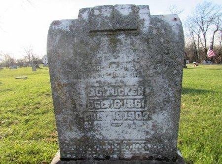 TUCKER, SAMUEL G. - Giles County, Tennessee   SAMUEL G. TUCKER - Tennessee Gravestone Photos