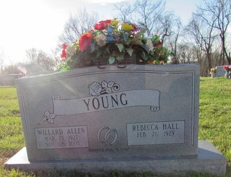 YOUNG, WILLARD ALLEN - Giles County, Tennessee | WILLARD ALLEN YOUNG - Tennessee Gravestone Photos