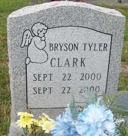 CLARK, BRYSON TYLER - Grundy County, Tennessee | BRYSON TYLER CLARK - Tennessee Gravestone Photos