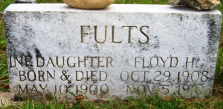 FULTS, FLOYD H. - Grundy County, Tennessee | FLOYD H. FULTS - Tennessee Gravestone Photos