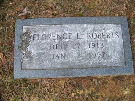 ROBERTS, FLORENCE L. - Grundy County, Tennessee   FLORENCE L. ROBERTS - Tennessee Gravestone Photos