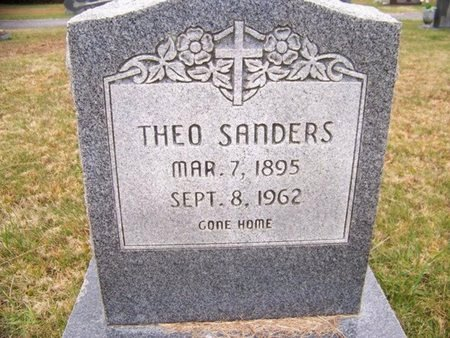SANDERS, THEO - Grundy County, Tennessee | THEO SANDERS - Tennessee Gravestone Photos