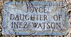 WATSON, JOYCE - Grundy County, Tennessee | JOYCE WATSON - Tennessee Gravestone Photos