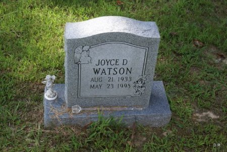 WATSON, JOYCE D. - Grundy County, Tennessee | JOYCE D. WATSON - Tennessee Gravestone Photos