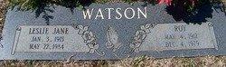 WATSON, ROY - Grundy County, Tennessee | ROY WATSON - Tennessee Gravestone Photos