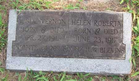BLEVINS, HELEN ROBERTA - Hamblen County, Tennessee | HELEN ROBERTA BLEVINS - Tennessee Gravestone Photos