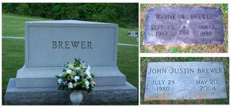 BREWER, JOHN JUSTIN - Hamblen County, Tennessee | JOHN JUSTIN BREWER - Tennessee Gravestone Photos
