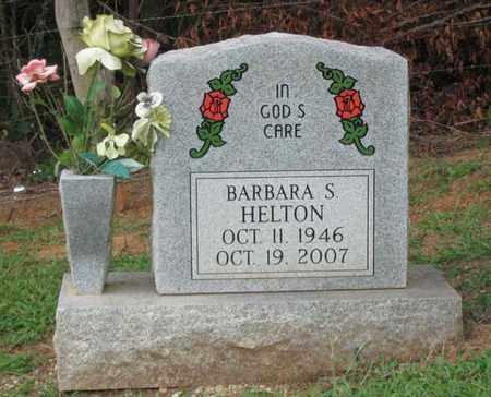 HELTON, BARBARA S. - Hamblen County, Tennessee | BARBARA S. HELTON - Tennessee Gravestone Photos