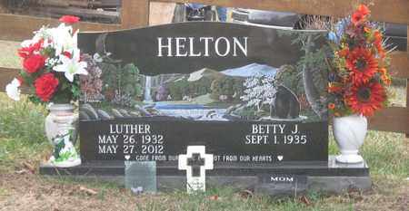 HELTON, LUTHER - Hamblen County, Tennessee | LUTHER HELTON - Tennessee Gravestone Photos