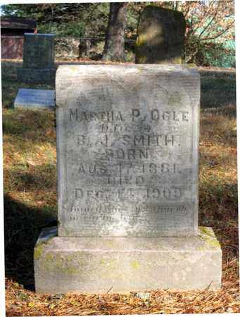 OGLE SMITH, MARTHA P. - Hamblen County, Tennessee | MARTHA P. OGLE SMITH - Tennessee Gravestone Photos
