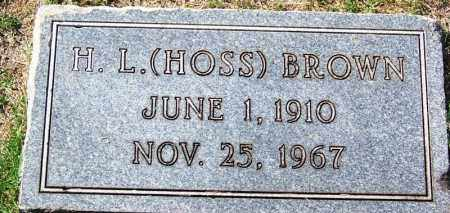 """BROWN, H L """"HOSS"""" - Hamilton County, Tennessee 