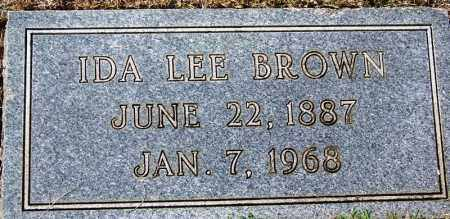 BROWN, IDA LEE - Hamilton County, Tennessee | IDA LEE BROWN - Tennessee Gravestone Photos