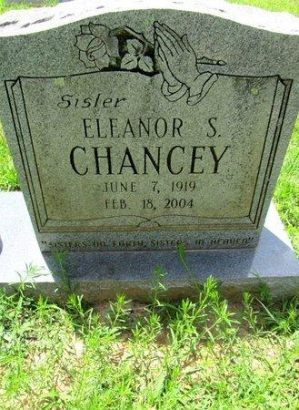 CHANCEY, ELEANOR S. - Hamilton County, Tennessee   ELEANOR S. CHANCEY - Tennessee Gravestone Photos
