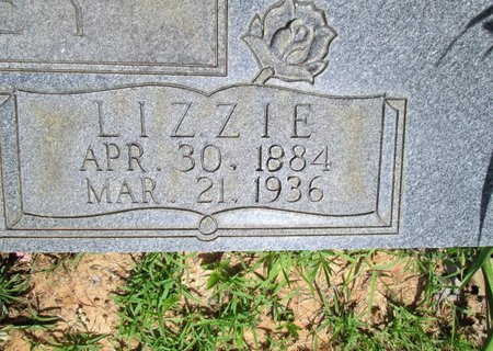 CHANCEY, LIZZIE - Hamilton County, Tennessee | LIZZIE CHANCEY - Tennessee Gravestone Photos