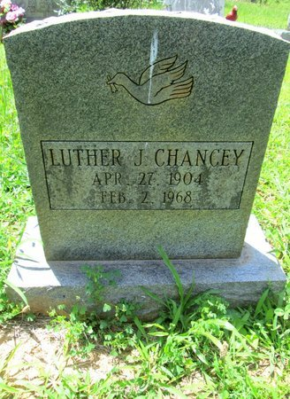 CHANCEY, LUTHER J. - Hamilton County, Tennessee | LUTHER J. CHANCEY - Tennessee Gravestone Photos