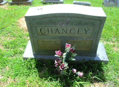 CHANCEY, ROSE - Hamilton County, Tennessee | ROSE CHANCEY - Tennessee Gravestone Photos
