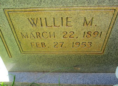 "CHANCEY, WILLIAM M. ""WILLIE"" (CLOSE UP) - Hamilton County, Tennessee 