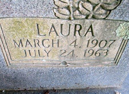 HATFIELD, LAURA (CLOSE UP) - Hamilton County, Tennessee   LAURA (CLOSE UP) HATFIELD - Tennessee Gravestone Photos