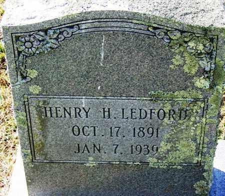 LEDFORD, HENRY H - Hamilton County, Tennessee | HENRY H LEDFORD - Tennessee Gravestone Photos