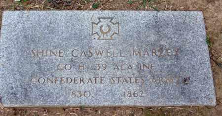 MARLEY   (VETERAN CSA), SHINE CASWELL - Hamilton County, Tennessee   SHINE CASWELL MARLEY   (VETERAN CSA) - Tennessee Gravestone Photos