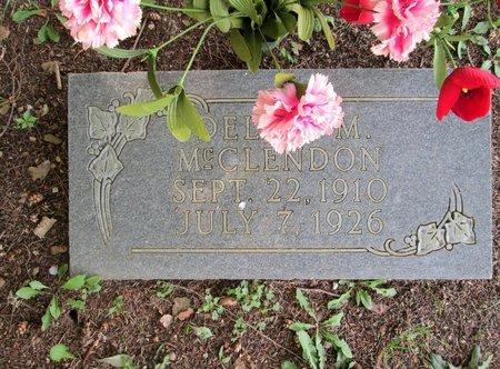 MCCLENDON, DELCIE M. - Hamilton County, Tennessee   DELCIE M. MCCLENDON - Tennessee Gravestone Photos