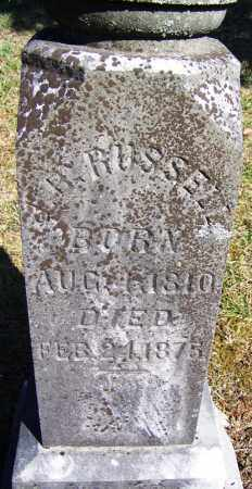RUSSELL, L B - Hamilton County, Tennessee | L B RUSSELL - Tennessee Gravestone Photos